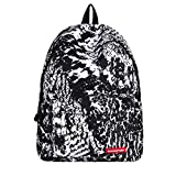 Aobiny Backpack Star Print Schoolbag for Primary And Secondary School Students (C)