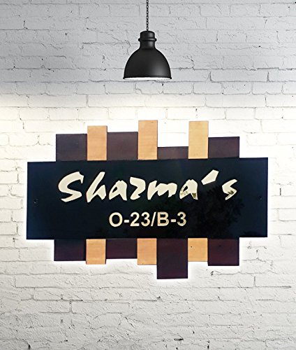 Sangam Ad Personalized Customised Office Name Plate Made Of Product For Home Decor 15 Inch X 10 Inch