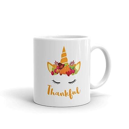 6c039da1446 Amazon.com: Unicorn Thanksgiving Women and Toddler Fall T- Thankful ...