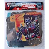 8 Ft Transformers Happy Birthday Banner by Designware