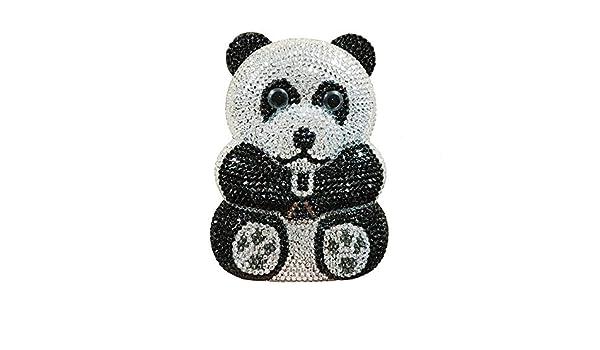 Bien Hecho Negro Panda Blanco De Las Mujeres Forma Animal ...