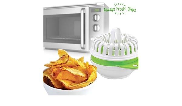 Always Fresh Kitchen Juego para Patatas Fritas de microondas ...
