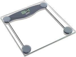 """""""Balança Pessoal Digital G.tech BALGL10 -  Até 150kg, Com Visor LCD Grande, Em Vidro Temperado, Desligamento Automático, Acionamento Por Toque"""""""