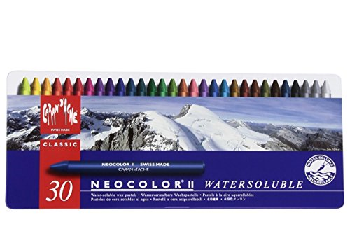 caran-dache-classic-neocolor-ii-water-soluble-pastels-30-colors