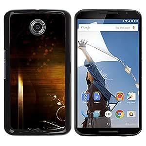 Be Good Phone Accessory // Dura Cáscara cubierta Protectora Caso Carcasa Funda de Protección para Motorola NEXUS 6 / X / Moto X Pro // Art Wallpaper Universe Symbolic Random Infinit