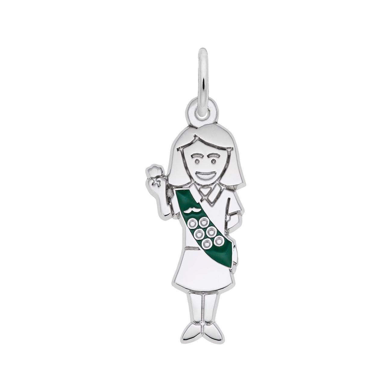 Sterling Silver Scout Charm