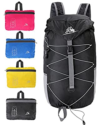 Acrofly 35L Lightweight Foldable Travel Backpack Waterproof Packable Hiking Daypack For Men or Women