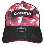 Case IH International Harvester Red & Black Digi Camo Logo Cap-Youth