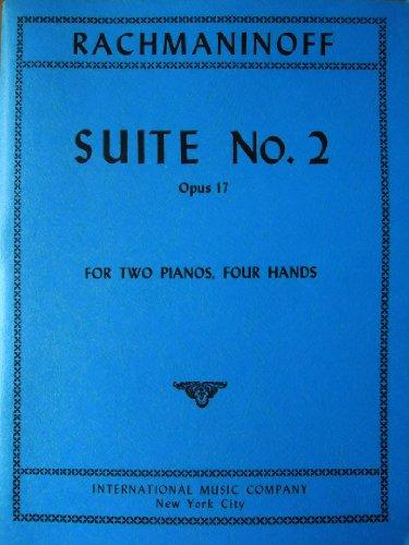 Rachmaninoff. Two Pianos. Four Hands. Suite No. 2, Opus 17. Introduction, Waltz, Romance, Tarantella ()