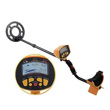 HUKOER MD-9020C Detector de Metales de Alta precisión Buscador de Metales Gold Digger Bobina de búsqueda Impermeable Búsqueda del Tesoro para la detección ...