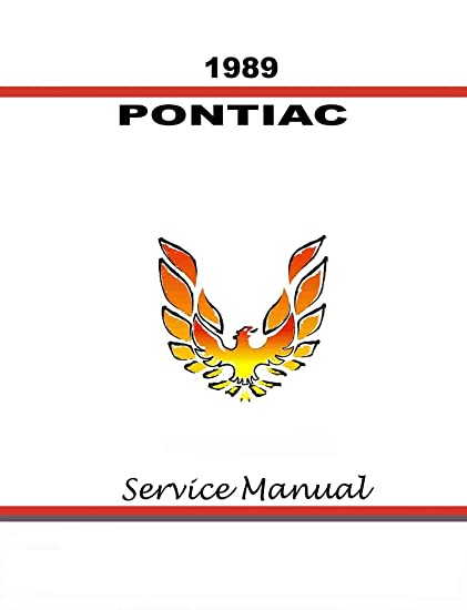 amazon com: bishko automotive literature 1989 pontiac firebird trans am  shop service repair manual book engine wiring oem: automotive