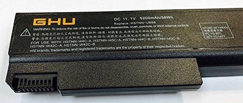 New GHU Battery for HP Replacement Battery TD06 TD09 for HP Elitebook 6930P 6730B 6530B 6450B 6540B 6550B 6555B 6440B part number 482962-001 486296-001 hstnn-ub69 hstnn-ib69 hstnn-ub68 hstnn-cb69