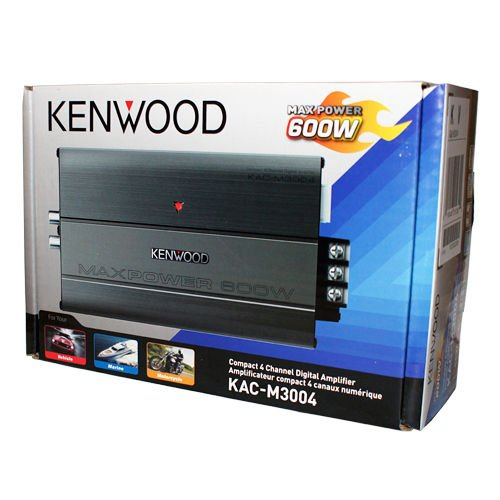 Kenwood KAC-M3004 Compact 4 Channel Digi - Four Channel Compact Shopping Results