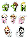 Idol Master SideM Mojimojikko acrylic key chain BOX products 1BOX = 8 pieces, all eight