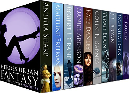 Heroes Urban Fantasy and Super Powers Bundle #1: 10 Urban Fantasy novels about witches and wizards, mages, ghosts, angels, demons, mutants, fairies, and more!