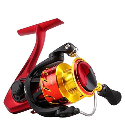 (SeaKnight FENICE Spinning Fishing Reel, Light Aluminum CNC Spool, Carbon Fiber Drag System Spinning Reel)