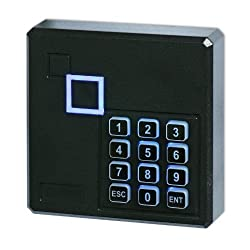 Lowpricenice Weatherproof 125khz Wiegand 26 26bit Access Control Keypad Rfid Reader Color Black