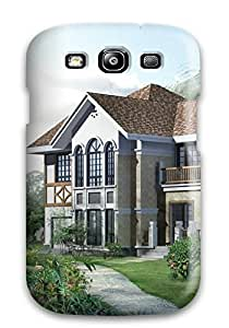 Fashionable Style Case Cover Skin For Galaxy S3- House
