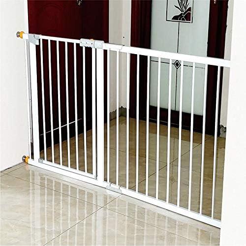 Huo Cubierta Blanca Niño Mascotas Barrera de Seguridad, Bebé Puerta de La Escalera Escalera Fit O Portal, Pasillos (Size : 208-215cm): Amazon.es: Hogar