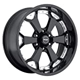 Pro Comp Alloys Series 80 Adrenaline Gloss Black Wheel with Machined Accents (20x9''/5x150mm)