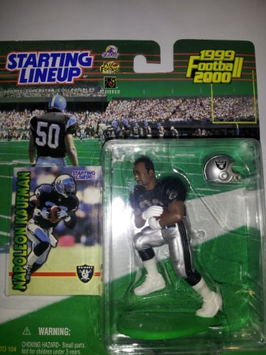 Napoleon Kaufman 19992000 Football Figure by Starting Line Up