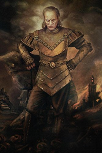 Vigo The Carpathian Ghostbusters Movie Painting Mural Giant Poster 36x54 inch