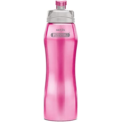 fddfa7a636 Buy Milton Hawk 750 Stainless Steel Bottle, 750ml, Pink Online at Low  Prices in India - Amazon.in