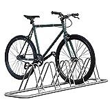 IKURAM 1-5 Bike Floor Parking Rack Storage Stand Adjustable Bike Frame Park