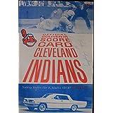 1961 Cleveland Indians Scorecard Autographed Luke Appling HOF + Hoot Evers 16H - MLB Programs