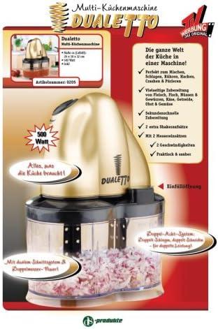 dualetto Robot de cocina – Original de la TV de publicidad: Amazon.es: Hogar