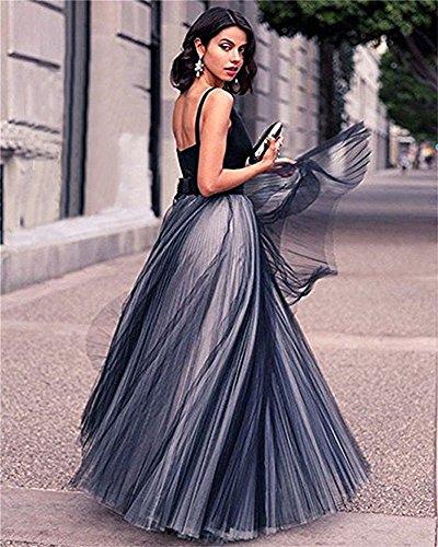 Party V Royal 2018 Dresses Blue CCBubble Dress Long Neck Prom Prom zIqWa0