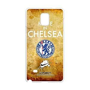 Nike Just Do It Retro England Chelsea Logo Case for SamSung Galaxy Note4 (Laser Technology)