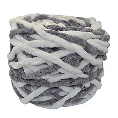 Extra Soft Yarn (Sets Of 4 Big Ball Yarn Soft Yarn Baby Blanket Yarn Scarf Yarn,)