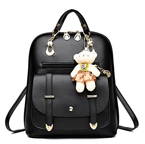 sac à la femmes mode PU main des décontracté 25 12 à sac dos de en Sac 30cm cuir souple multifonctionnel wxXYBqg1
