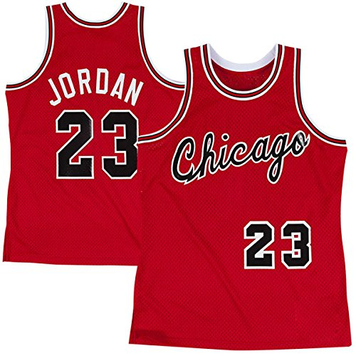 Mens Michael Jordan #23 Chicago Bulls Road Jersey M