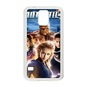 Samsung Galaxy S5 Cell Phone Case White Fantastic Four Phone Case Cover Custom Back CZOIEQWMXN4622
