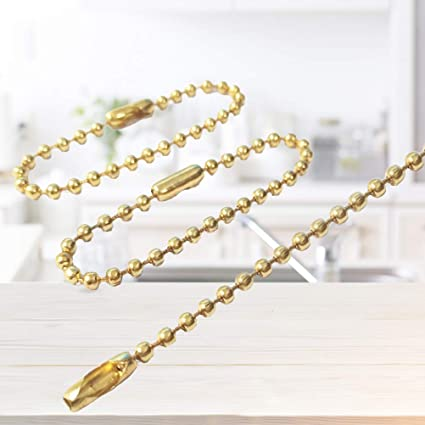 Amazon.com: Healifty Long Bead Connector Clasp Adjustable ...
