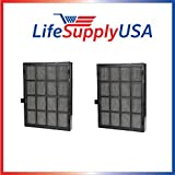 2 pcs True HEPA Replacement Filter Fits Winix 114190 Size 21 by Vacuum Savings