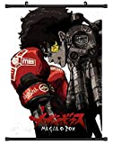 FidgetGear Megalo Box Anime HD Canvas Print Wall Poster Scroll Home Decor Cosplay 40x60cm/16 x25 inches