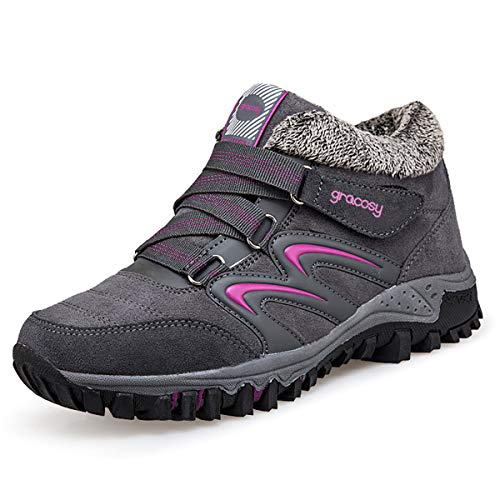 Pictures of gracosy Women's Hiking Shoes High Top GRACOSYWERTY21416 4