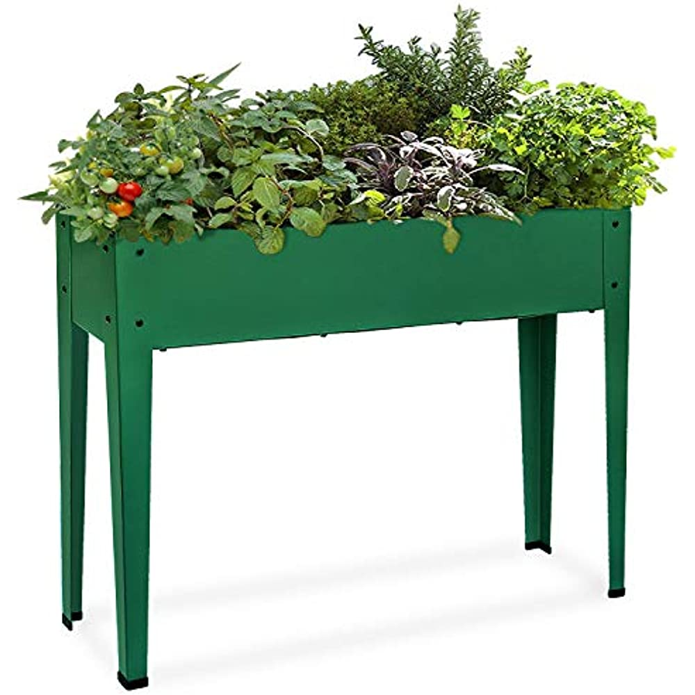 Raised Garden Bed For Vegetables Elevated Planter Box Legs