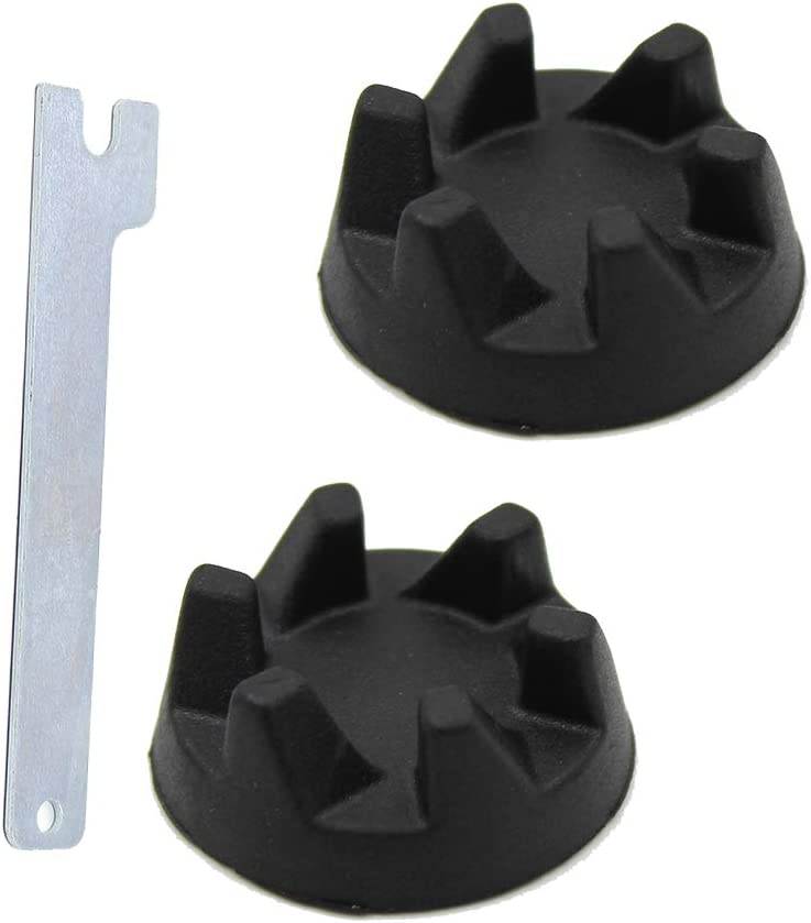 Joyparts Replacment Parts 2 Packs 9704230 Blender Coupler Blender Coupling with 1 Wrench, Compatible with KitchenAid WP9704230VP WP9704230