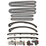 TK10560 Brand New Engine Timing Chains, Tensioners, & Guide Rails Kit W/O Gears AJ BC LC DC C for 97-00(07/2001) Jaguar 4.0L 3996CC 244 V8 (early year model only)