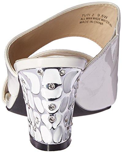 Annie Schoenen Womens Tuti 2 W Slide Sandal Pearl White