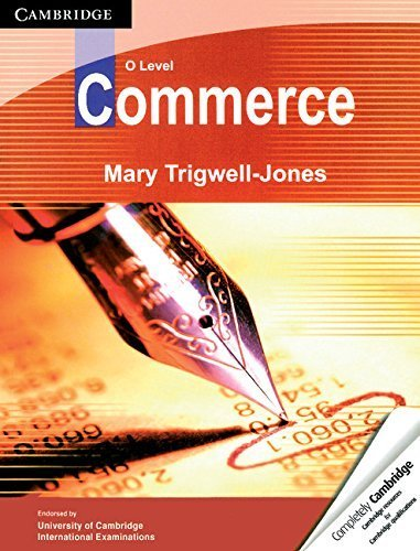 O Level Commerce by Mary Trigwell-Jones (2009-09-01)