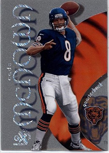 1999 E-X Century Essential Credentials Now #63 Cade McNown - Chicago Bears (RC - Rookie Card - Serial #'d 21/63)(Limited Edition Football Insert Card)