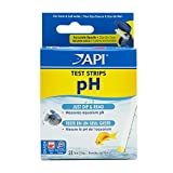API pH TEST STRIPS Freshwater and Saltwater Aquarium Water test strips 25-Count Box
