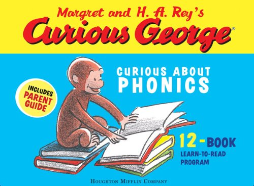Curious george curious about phonics 12 book set kindle edition by curious george curious about phonics 12 book set by rey h a fandeluxe Choice Image