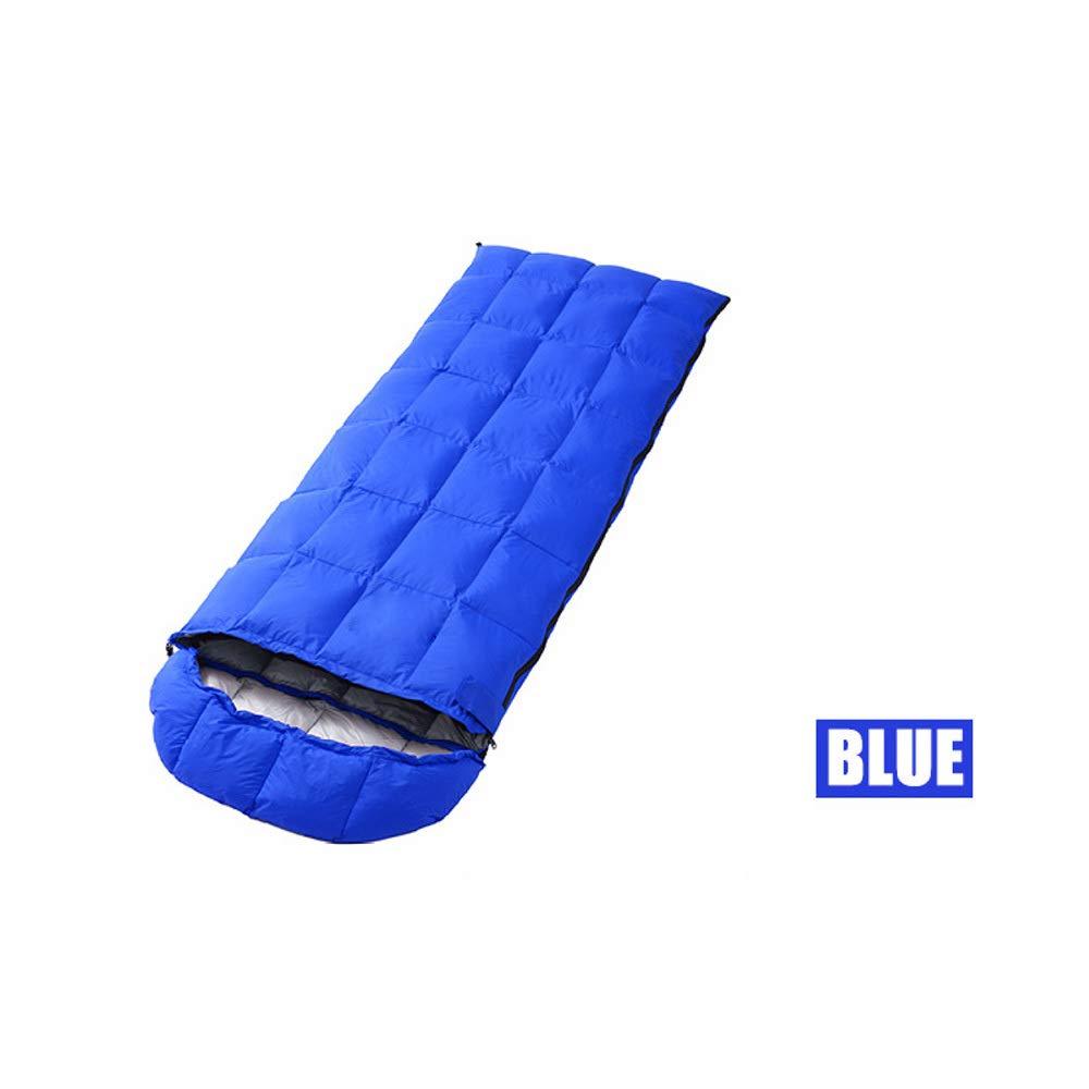 WBGSNHHH Mountaineer Schlafsack Versch. Modelle Mumienschlafsack Deckenschlafsack   Inkl. Tragebeutel   Wasserabweisend Atmungsaktive,Blau