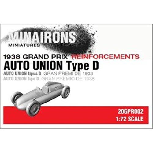 - 1938 Grand Prix - Models 1:72 Auto Union Type D